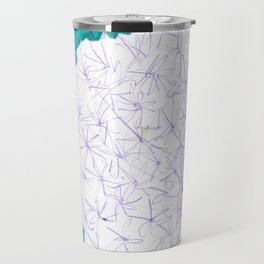 Puffball by Jane Davenport Travel Mug