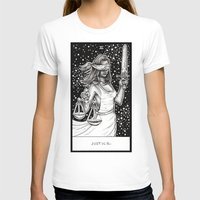 tarot T-shirts featuring Justice Tarot by Corinne Elyse