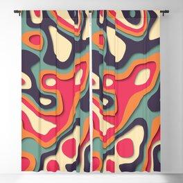 Paper Cutout 003 Blackout Curtain