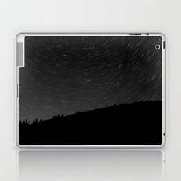 Rotating Startrails Laptop & iPad Skin