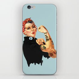 Tattooed Rosie the Riveter iPhone Skin