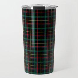 Red and green plaid Travel Mug