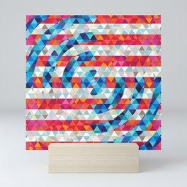 Abstract America Mini Art Print