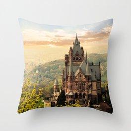 Castle. Throw Pillow