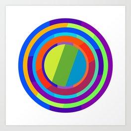 Circles of Swing (4) Art Print