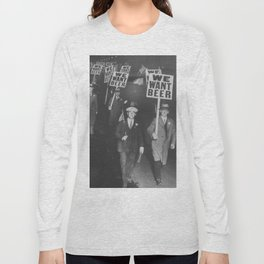 We Want Beer Long Sleeve T-shirt