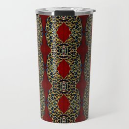 Gorgeous beadwork inspired print Travel Mug