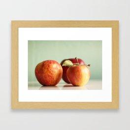 Autumn Apples Framed Art Print