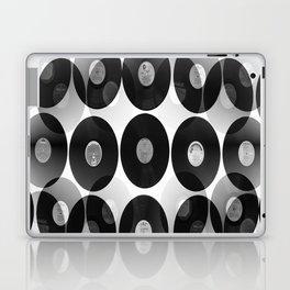 Something Nostalgic II - Black And White #decor #buyart #society6 Laptop & iPad Skin