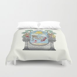 The Lord of the Board Duvet Cover