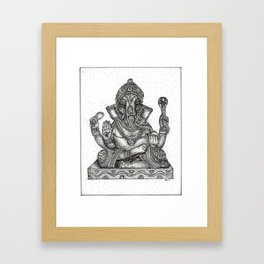 Remover of Obstacles Framed Art Print