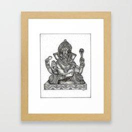 Remover of Obstacles Framed Art Print