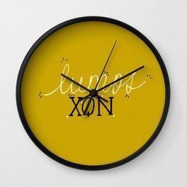 Lumos/Nox Wall Clock