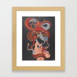 Karma Assassins II Framed Art Print
