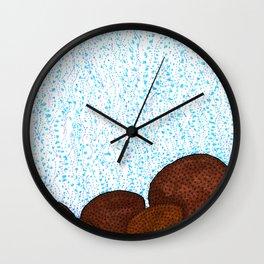 Siderastrea glynni Coral Wall Clock