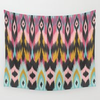 bohemian Wall Tapestries featuring Bohemian Tribal by Bohemian Gypsy Jane