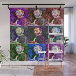 Vincent van Gogh Pop Art Wall Mural