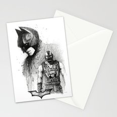 Bat In Black (The Dark Knight Rises) Stationery Cards