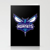 nba Stationery Cards featuring NBA - Hornets by Katieb1013