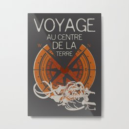 Books Collection: Jules Verne Metal Print