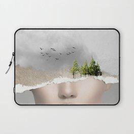 minimal collage /silence2 Laptop Sleeve