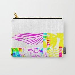 Palm beach glitch digital design Carry-All Pouch