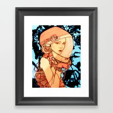 Parking Lot Bandit Framed Art Print