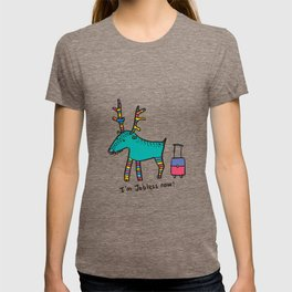 Jobless Rudolph T-shirt