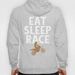 Motocross Racers Eat Sleep Race Dirt Bike Racing Motorcycles Hoody