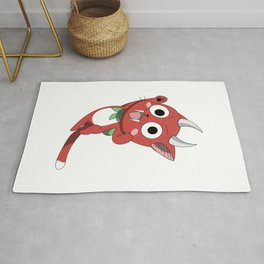 Happy The Red: All fired up Rug