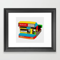 Captures Great Moments (color toy) Framed Art Print