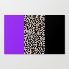 Leopard National Flag IX Canvas Print