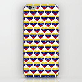 Venezuelan heart - Corazon Venezolano iPhone Skin