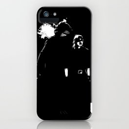 I feel it too iPhone Case