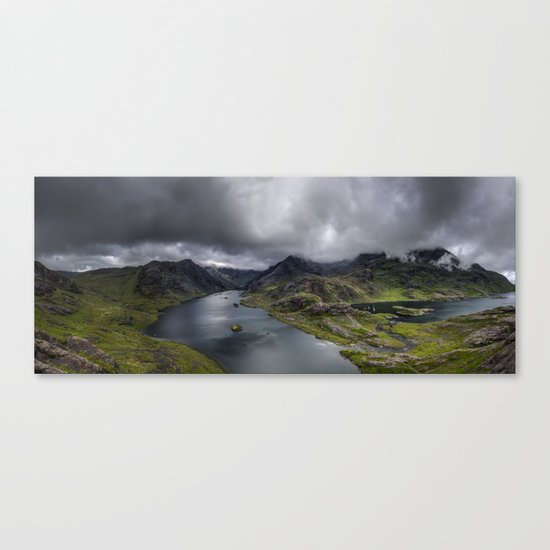 To Conquer Canvas Print
