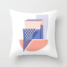 Geo Tile i Throw Pillow
