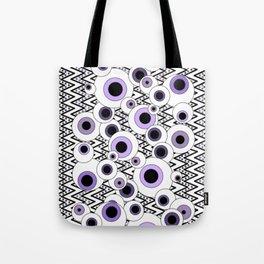 Peekaboo - Purple Tote Bag