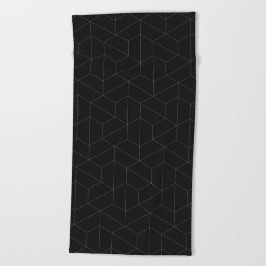 Hexagonal  Beach Towel