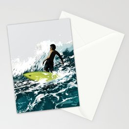 On the Wave Stationery Cards