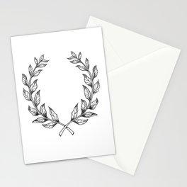 Laurel wreath Stationery Cards