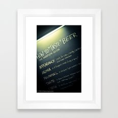 incase you didnt know. Framed Art Print