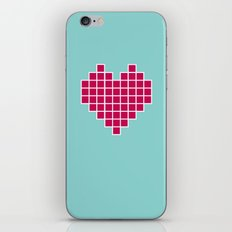 Pixelated Heart iPhone & iPod Skin