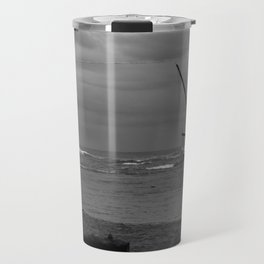 sunken boat Travel Mug