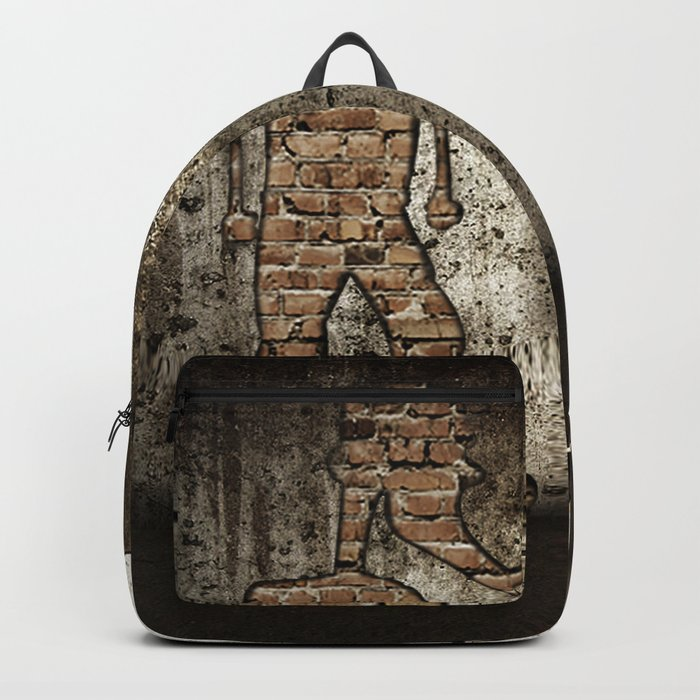 through the wall Backpack