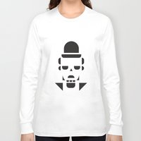 chaplin Long Sleeve T-shirts featuring Chaplin  by MeeNeeMo