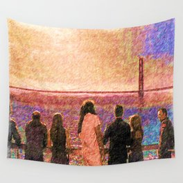 Enemy at the gate Wall Tapestry
