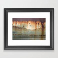 the airstream Framed Art Print