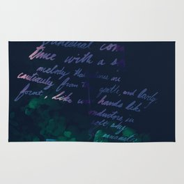 """""""Conquest of the Useless"""" by Werner Herzog Print (v. 10) Rug"""
