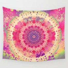 Anenome Mandala Wall Tapestry