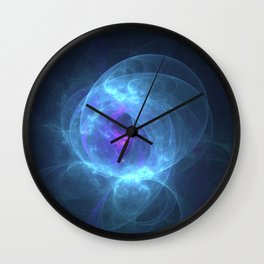 Bio luminescence Wall Clock